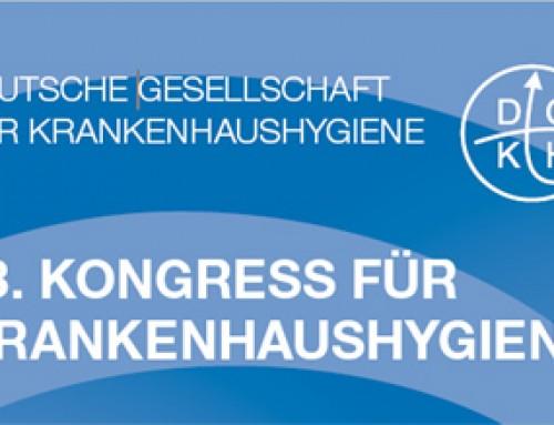 Hygienetastatur Purekeys: 13. Kongress für Krankenhaushygiene