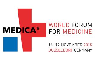 Medica Logo für Purekeys 2016
