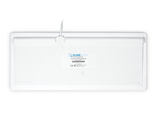 Purekeys 40104900 Hygienetastatur Touchpad weiß Boden