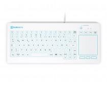 Purekeys 40104900 Hygienetastatur Touchpad weiß Draufsicht