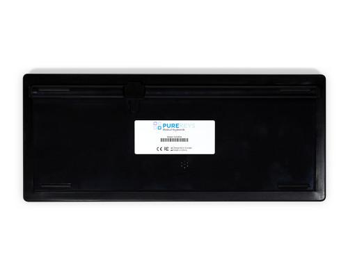 Purekeys 40404902 Kabellose kompakte Hygienetastatur schwarz Boden