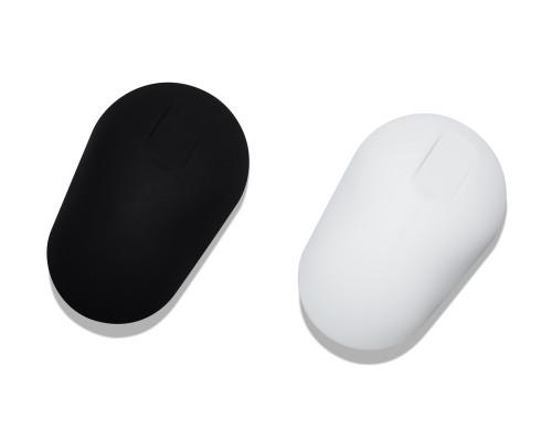 Medizinische Computermaus desinfizierbar in schwarz und weiß von Purekeys