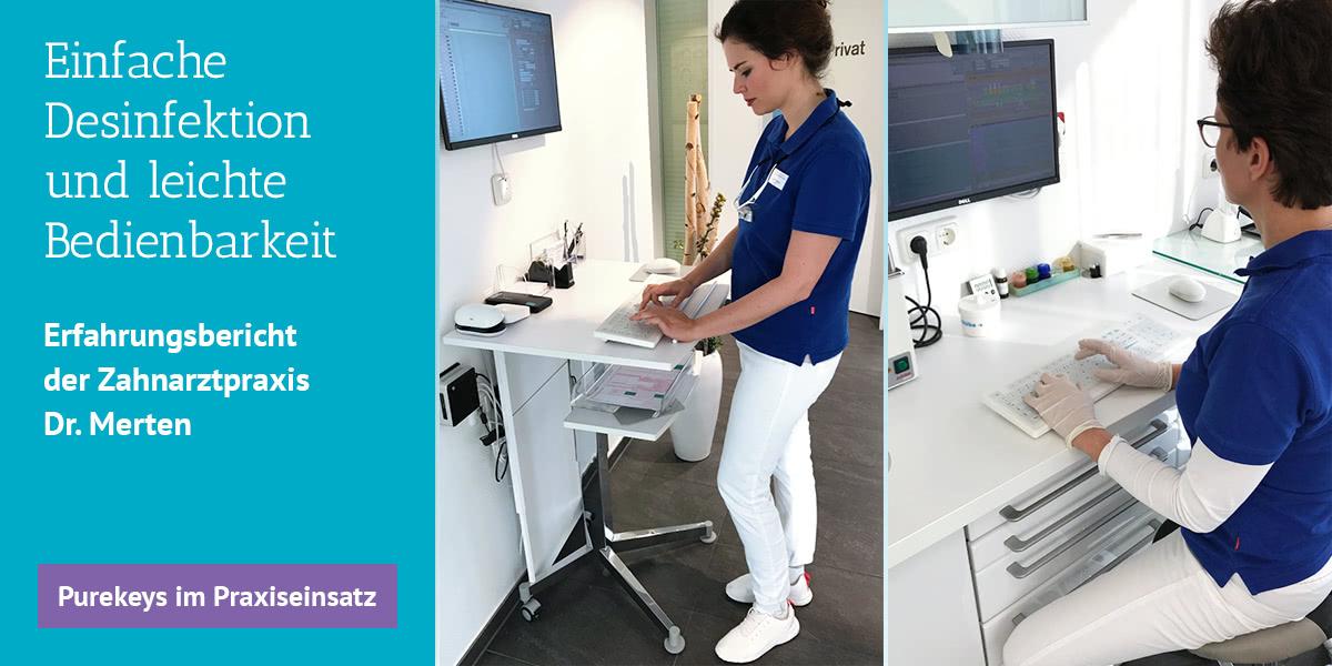 Slider Purekeys Erfahrungsbericht Zahnarztpraxis Dr. Merten